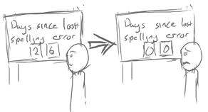 SpellingErrorTracker