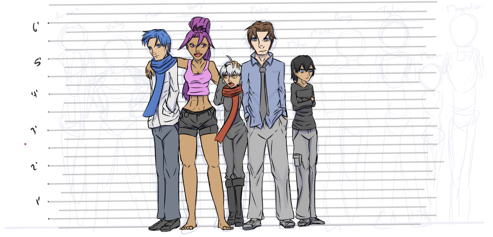 Cast Height Chart Part 1