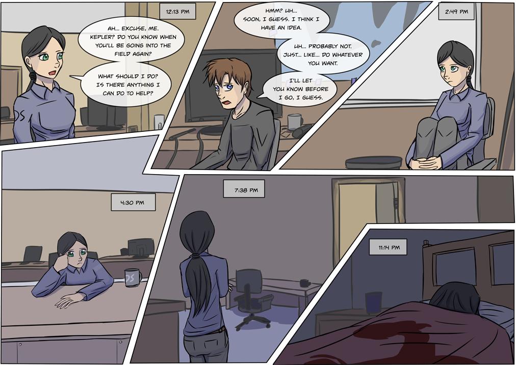 Intermission 3, Minus Years 2, Page 1